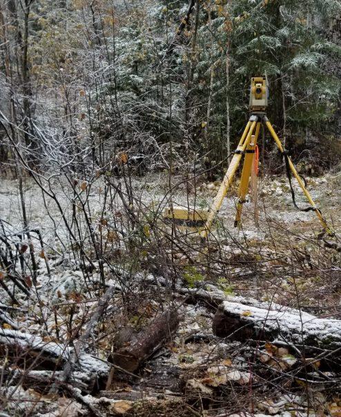 total_station_surveys_northern_ontario_talbot_surveys